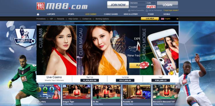 M88 Asia - Judi Bola Casino Online